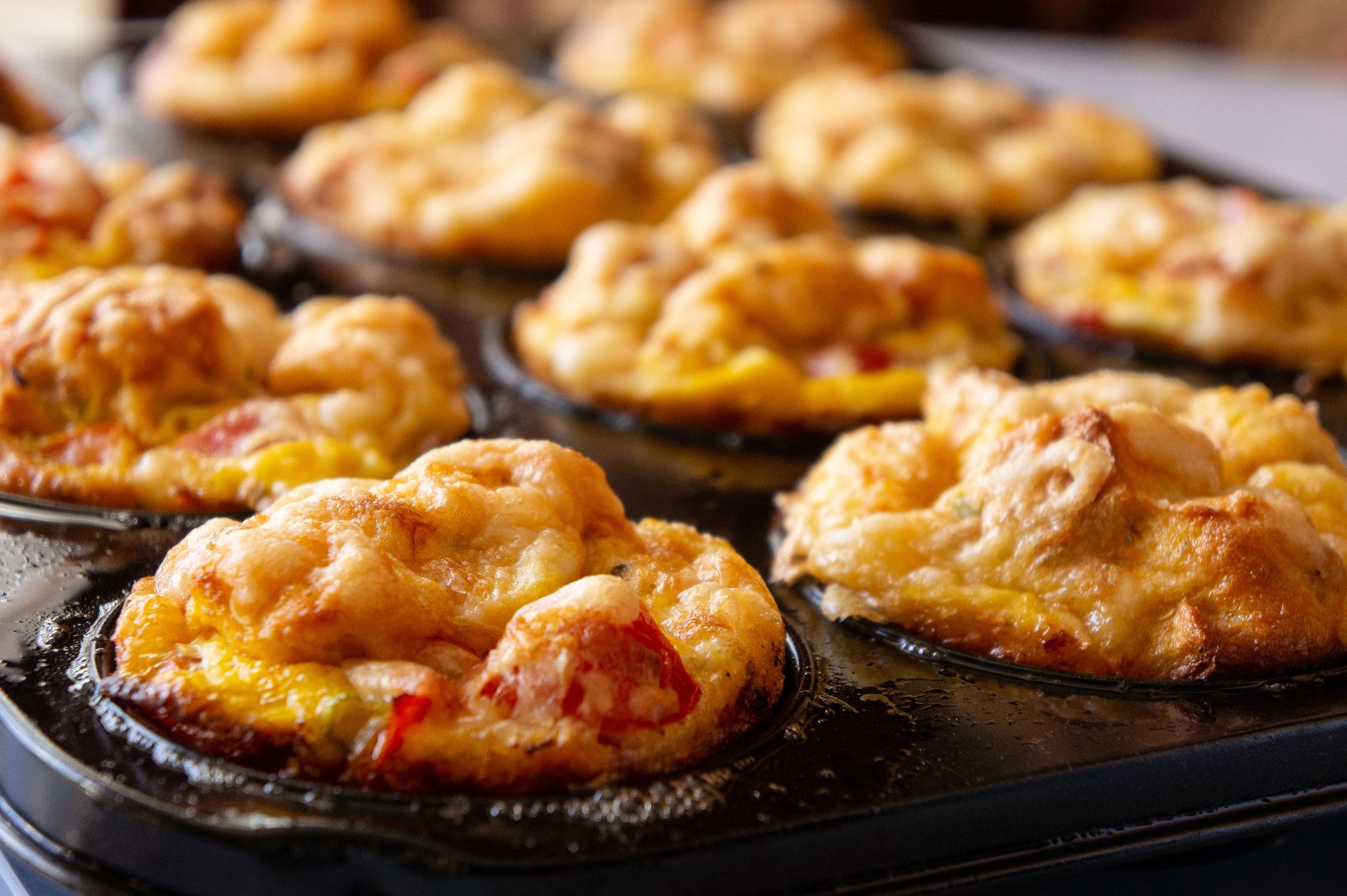 Herzhafte Fenchel-Frühstückmuffins
