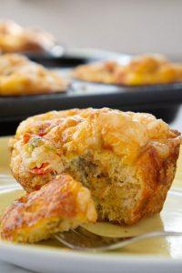 Herzhalfte Fenchel Frühstücks Muffins