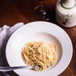 Spaghetti mit Salzgemüse