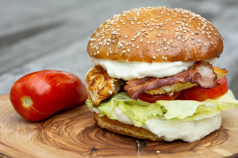 Caesar Chicken Burger