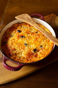 Frittata mit Artischocken und Chorizo