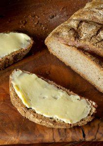 Selbstgemachte Butter