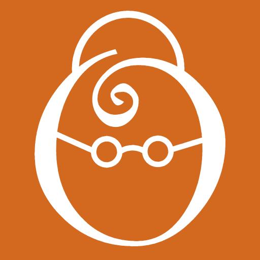 oma reloaded Logo_weiß auf orange